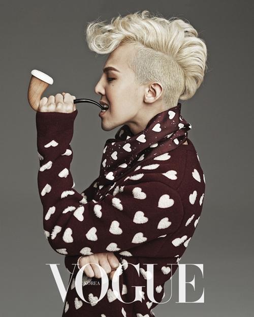 Más Fotos De G-Dragon Para Vogue Korea!!